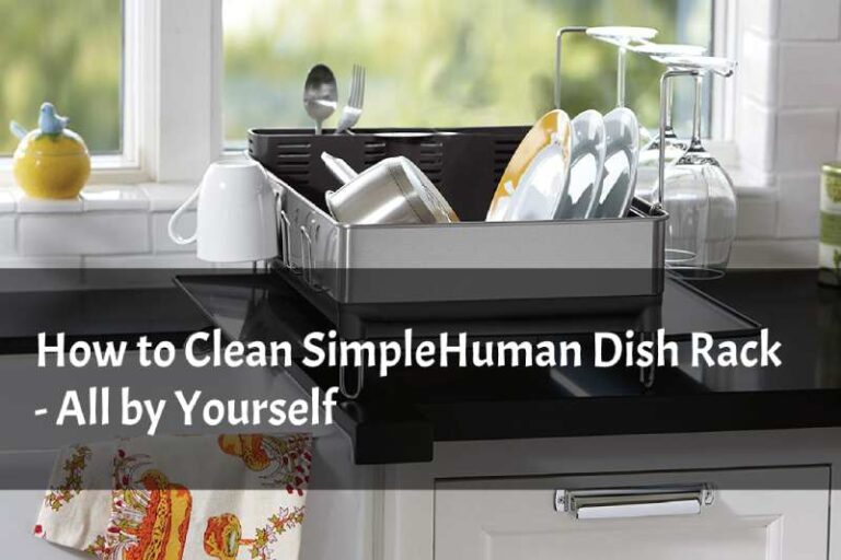 How to Clean SimpleHuman Dish Rack All by Yourself.
