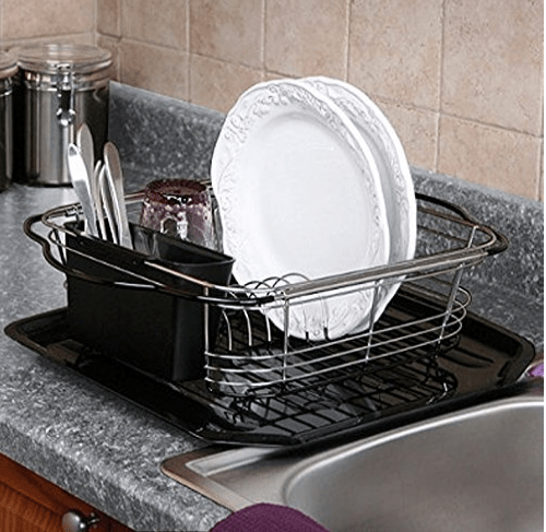 Top 5 best dish rack over the sink in 2019 - Dish Drying Racks