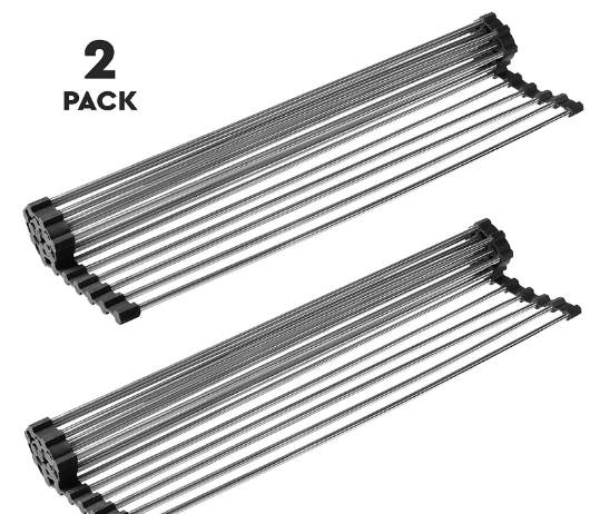 best roll up dish drying rack