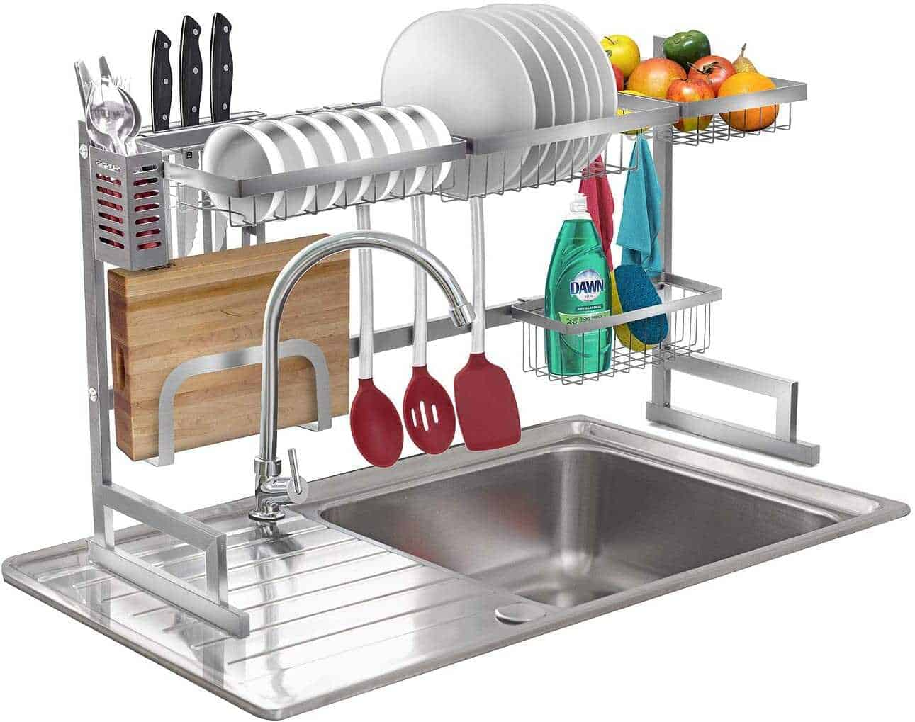 Top 6 Best Over The Sink Dish Rack Reviewed Dish Drying Racks