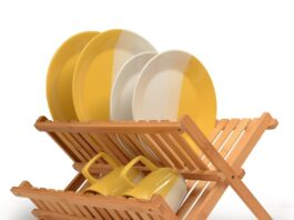 best folding dish rack