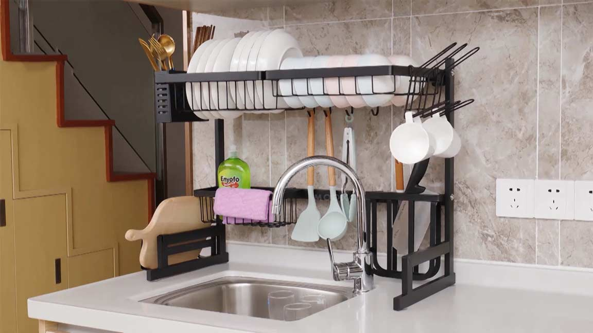 Best Over The Sink Dish Racks Top 6 Reviewed