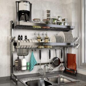 5. Loyalfire Over Sink Dish Drying Rack