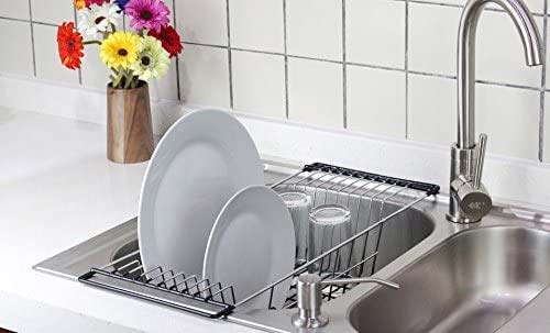 Neat-O Over The Sink Kitchen Dish Drainer
