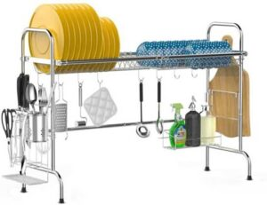 iSPECLE Large Premium 201 Stainless Steel Dish Rack